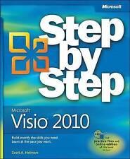 NEW Microsoft Visio 2010 Step by Step by Scott A. Helmers