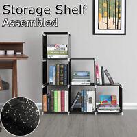 3-tier Household Storage Cube Closet Organizer Shelf 6-cube Cabinet Bookcase USA