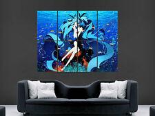 Hatsune Miku Vocaloid Manga Art imagen imagen grande de Pared Cartel