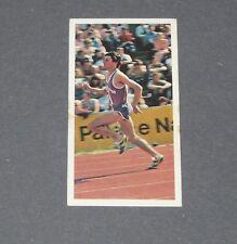 GUM CARD BARRATT BASSETT ATHLETES WORLD 1980 ATHLETISME N°1 SEBASTIAN COE GB