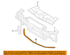 FORD OEM Mustang Radiator Core Support-Lower Splash Shield Deflector 5R3Z8349BA
