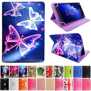 Smart Stand Leather Flip Cover Case for Alcatel 3T 1T 10 8 7 Inch tablets