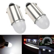 2Pcs Super White BA9S LED Interior Dome Instrument Panel Dashboard Light Bulbs