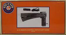 Lionel O-72 Remote Left-Hand Switch LNL665166