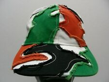 MULTI- COLOR EMBROIDERED - YOUTH OR ADULT S/M SIZE ADJUSTABLE BALL CAP HAT!
