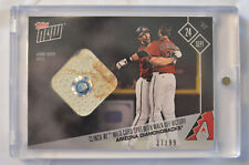 2017 Topps Now Game Used Base Relic Card#649A Arizona Diamondbacks 37/99