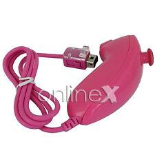 Mando Nunchuck para WII/ WII U color Rosa a545