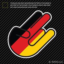 German Shocker Sticker Die Cut Decal Self Adhesive Vinyl Germany DEU DE