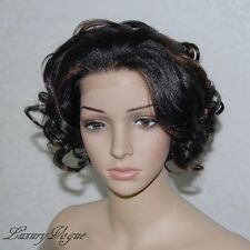 Handsewn Synthetic FULL LACE FRONT Ryhann Wig 9124#1B30