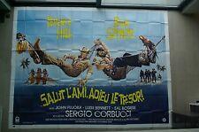 "HUGE RARE 160"" x 120 "" Bud Spencer Terence Hill 8 panel billboard poster"