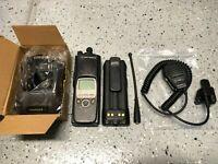 Motorola XTS5000 700 800 MHz P25 Digital Radio H18UCF9PW6AN w/ Accessories
