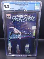 Spider-Gwen: Ghost Spider #1 CGC 9.8 1:10 Animation variant Spider-Verse