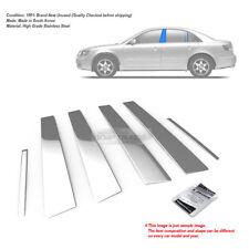 Stainless Steel Chrome Window Pillar Molding 6P For HYUNDAI 2006-2010 Sonata NF