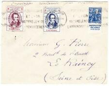 France Sc#245-PHOSPHATINE FALIERES (Advertising on Selvage-FROM BOOKLET