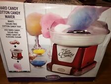 Nostalgia Retro Red Hard And Sugar Free Candy Countertop Cotton Candy Maker New