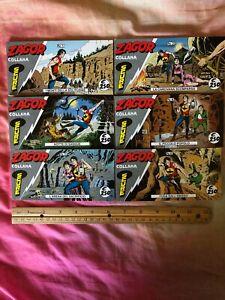 """Zagor """"Collana Scure"""" Italian Comics, Adventure Bonelli Complete collection"""