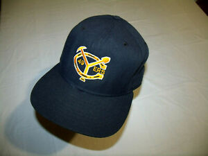 Yuba College 49ers VINTAGE 1980s Hat New Era Pro Model USA Fitted 7 1/2
