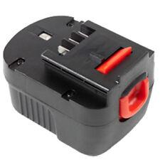 MTEC acu batería para Black y Decker a1712/fsb12 - 2000mah Battery 12v