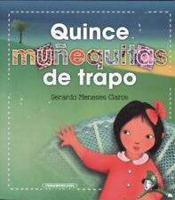 Quince muñequitas de trapo (Spanish Edition)-ExLibrary