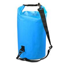 2l-30l PVC Waterproof Dry Bag Sack for Canoe Floating Boating Kayaking Camping Blue 10l
