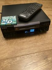 Sony Minidisc Deck MDS-S38 Includes Remote