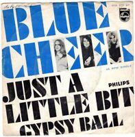 """BLUE CHEER ~ Just A Little Bit ~ Original 1968 Dutch  2-trk 7"""" vinyl single ~p/s"""