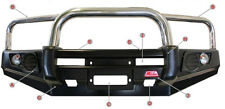 MCC 4WD TRIPLE LOOP STAINLESS STEEL BULLBAR 707-01 FORD COURIER PE/PG/PH 99-07