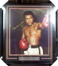 Muhammad Ali Authentic Autographed Signed Framed 16x20 Photo Beckett COA A74192