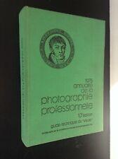 Annuaire de la photographie professionelle 1975 TBE