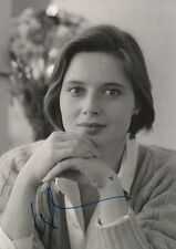 Isabella Rossellini Autogramm signed 20x30 cm Bild s/w