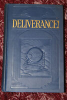 1926 DELIVERANCE! Watchtower JF Rutherford VTG Jehovah's Witnesses SUPERB! IBSA
