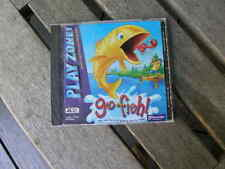 1106) Go Fish The Real Thrill Of Fishing 4 Kids 1998 Play Zone Win 95/98 Cd-Ro