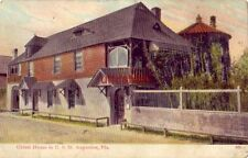OLDEST HOUSE IN THE U. S. ST. AUGUSTINE, FL 1908