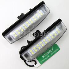 2Pcs 18-SMD LED Number-Plate Light For Toyota Aurion 2007-2013 2008 2009 2010
