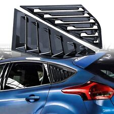 2012-2018 Ford Focus MK3 RS SE ST Carbon Fiber Look Side Quarter Window Louvers