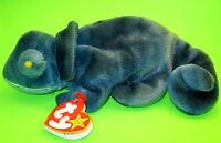 Rainbow Ty Beanie Baby Blue Tie Dye Chameleon MWMT No Tongue DOB October 14 1997