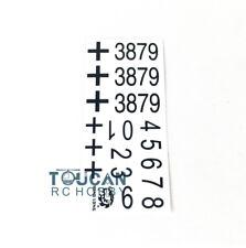 HengLong 1/16 German Panther G Rc Tank 3879 Decal Paster Sticker