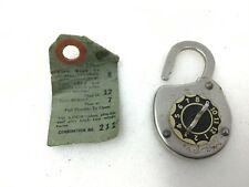 Vintage Belmont Combination Padlock Lock Box Security