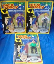 Dick Tracy 1990 Moc Mip Action Figure Lot Playmates Dick Tracy The Rodent Tramp