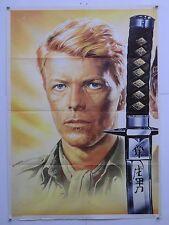 FURYO dramma guerra Oshima con David Bowie manifesto orig. 1983