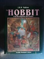 Tolkien LO HOBBIT O LA RICONQUISTA DEL TESORO arnoldo Mondadori RARO