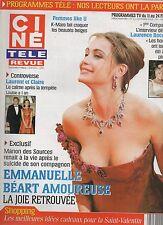 CINE REVUE (belge) 2005 N°6 emmanuelle beart frere taloche k-maro