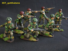 Painted Plastic British 1:32 Airfix Toy Soldiers