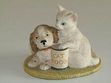 John Beswick Studio Sculpure I GIOVANI AMICI SERIE menu gatti e cani per oggi