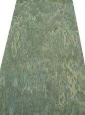 Vogelaugen grün gefärbtes Furnier grünes Holz SaRaiFo 250x64cm