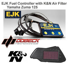 Yamaha Zuma 125 EJK Fuel Injection Controller & K&N Air Filter YA-1209 EFI Tuner