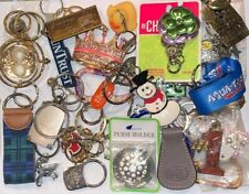 Lot of 30 + Vintage to Present Keychain Ad Promo Designer Dooney Harry Potter K