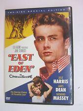 East of Eden (DVD, 2005, 2-Disc Set, Special Edition)- James Dean, Julie Harris
