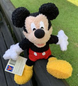 vintage Disney Mickey Mouse Mattel Fisher Price Disney Plush Jointed 1999