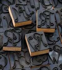 Jugendstil Wäschestempel Monogramm Schablone Buchstabenstempel Textildruck chic